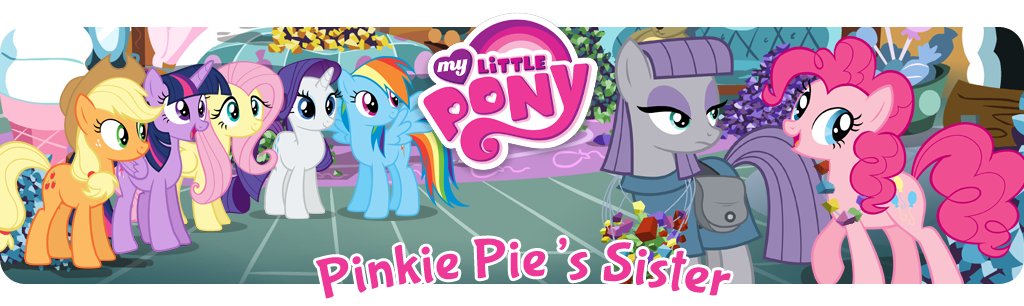 Pinkie Pies Sister banner