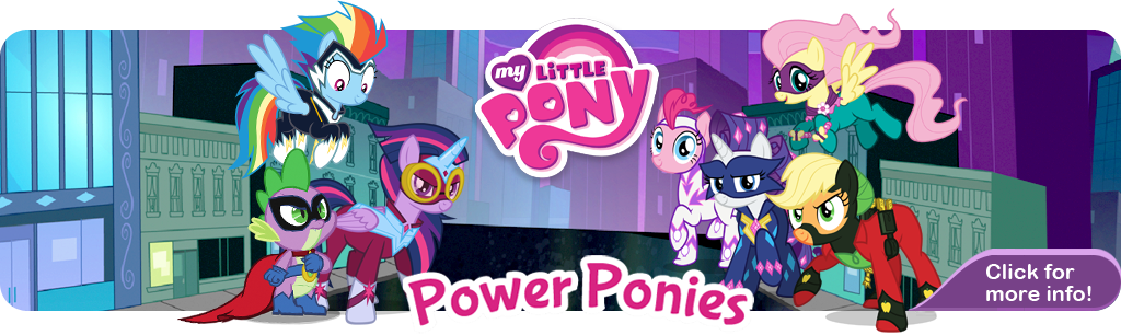 Power Ponies Banner