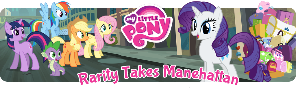 Rarity Takes Manehattan banner