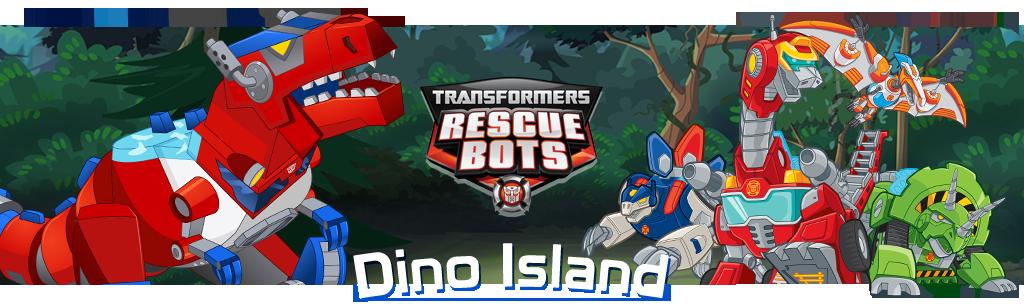 Dino Island banner