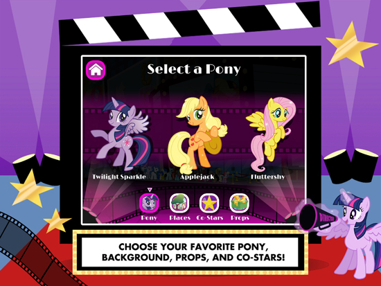 My Little Pony Lights Cameras Ponies Screenshot