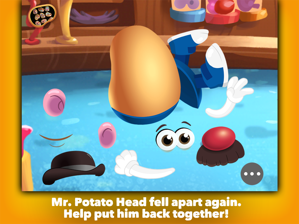 Mr Potato head School Rush Screenshot