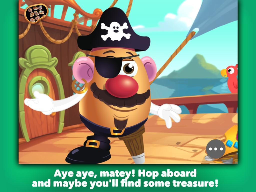 Mr Potato head School Rush Screenshot