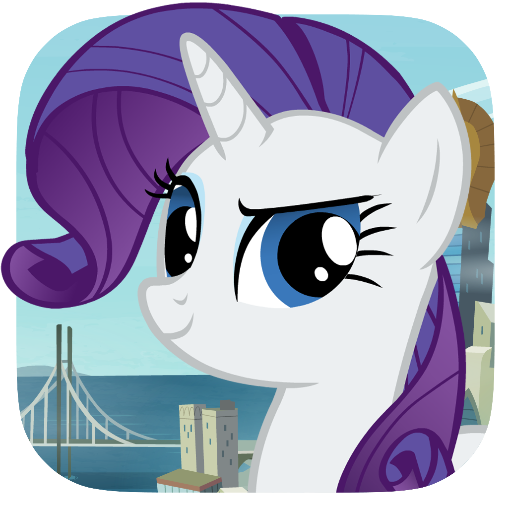 Rarity Takes Manehattan App Icon
