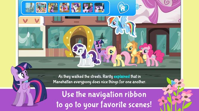 Rarity takes Manehattan Screenshot