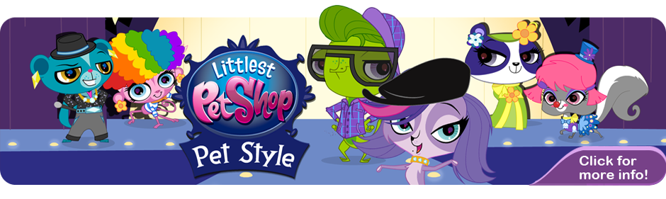 Littlest Pet Shop Pet Style Banner