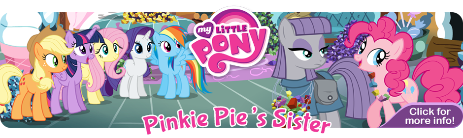 Pinkie Pie's Sister Banner