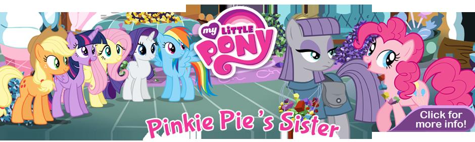 Pinkie Pie's Sister Banner