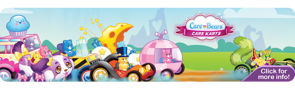 Care Bears Care Karts Banner