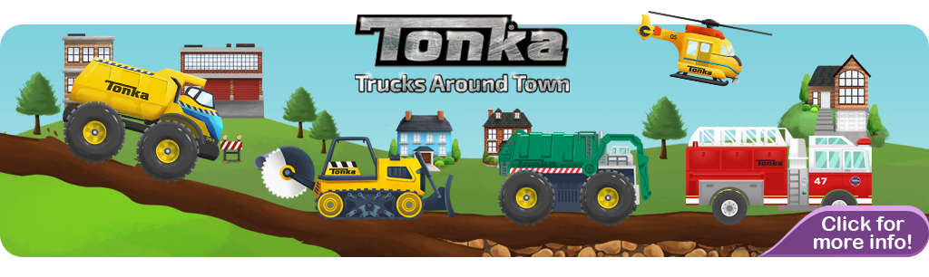 Tonka Trucks Banner