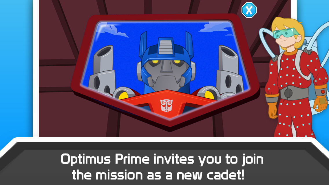 Transformers Rescue Bots Sky Forest Rescue App Screenshot