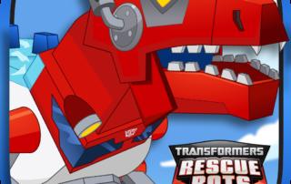 Transformers Rescue Bots Dino Island App Icon