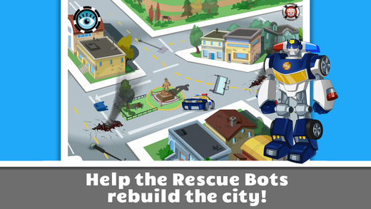 Transformers Rescue Bots Save Griffin Rock Screenshot