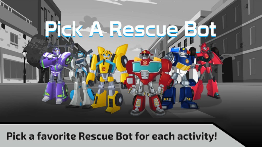 Transformers Rescue Bots Need For Speed Playdate Digital