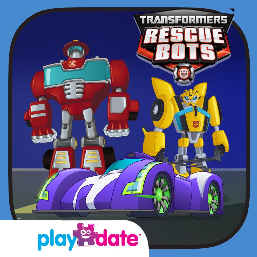 Transformers Rescue Bots App Icon